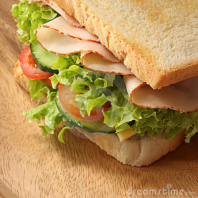 Free Closeup Sandwich Royalty Free Stock Images - 3819109