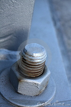Closeup screw cap