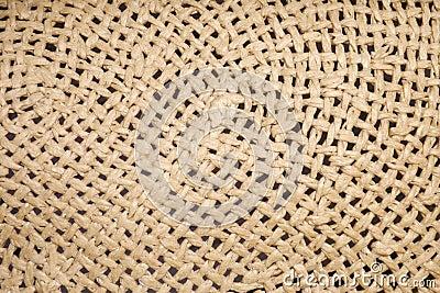 Closeup seamless fiber wicker