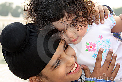 Closeup of sikh children Editorial Photography