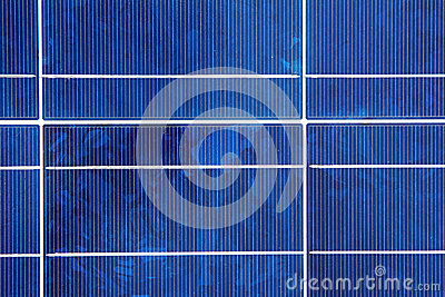 Closeup of a Solar Panel Module