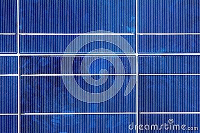 Closeup of a Solar Panel Module