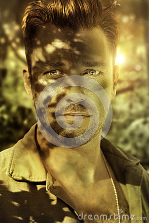 Closeup soldier
