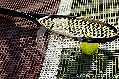 Closeup Tennis