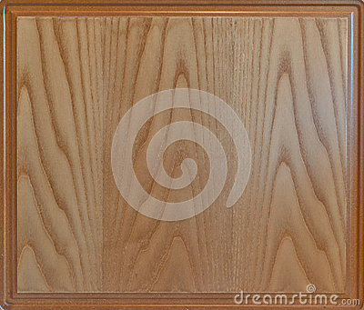 Closeup of textured wood background with frame