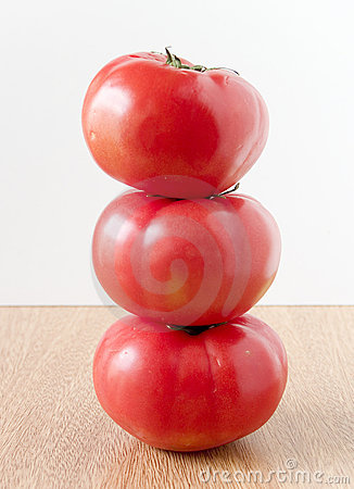 Closeup tomatoe