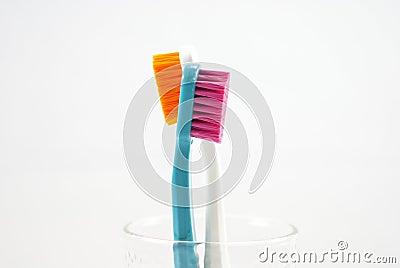 Closeup Toothbrush