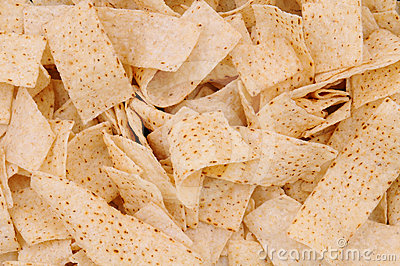 Closeup of Tortilla Strips