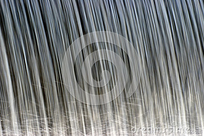 Closeup of Water Falling