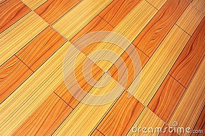 Closeup of wooden floor