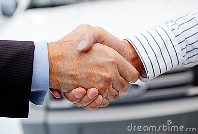 Closing deal on a car