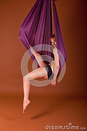 In a cloth