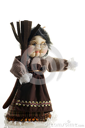 Cloth doll Epifany witch