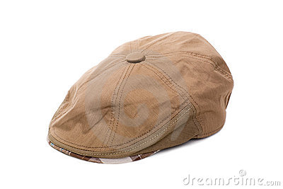 Cloth flat cap