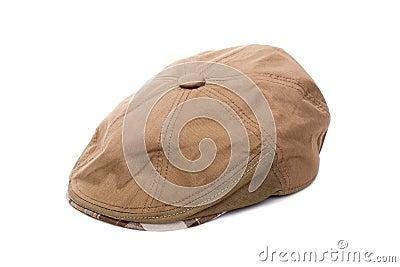 Cloth flat cap