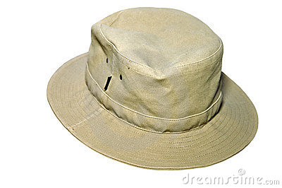 Cloth Hat Isolated