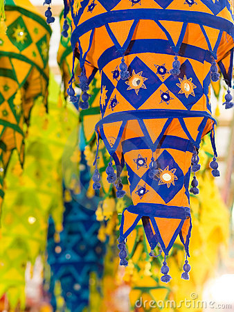 Cloth Lanterns Stock Photography - Image: 6604332