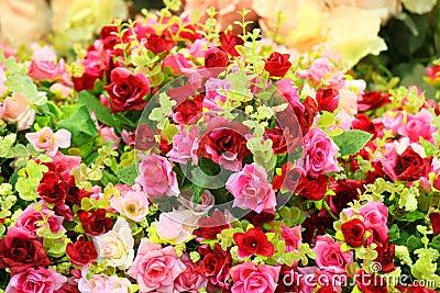 Cloth roses
