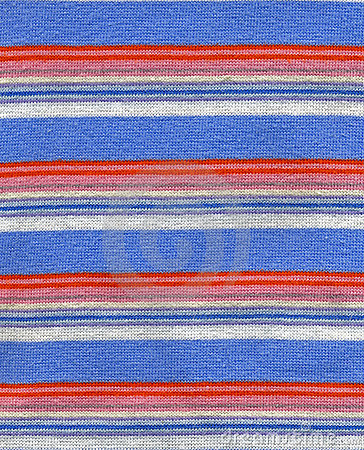 Cloth with stripes texture