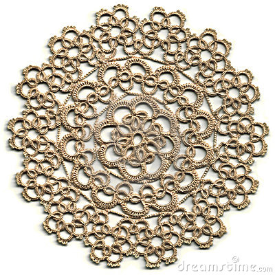 Cloth, Tatted Lace Doily