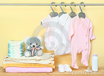 Clothes and accessories for newborn