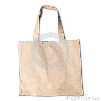 Clothes bag  white background