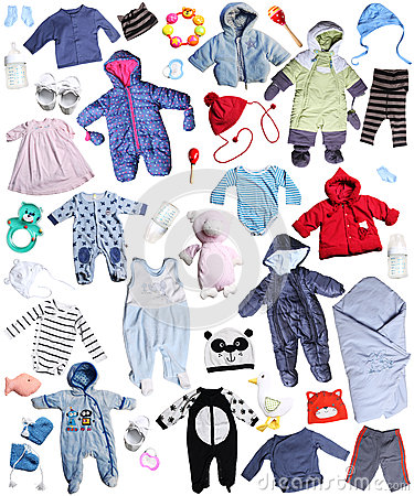 Free Clothes For Children Royalty Free Stock Images - 36433759