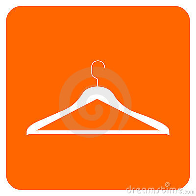 Free Clothes Hanger Icon Stock Photography - 8596792