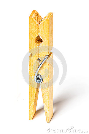 Free Clothes Peg Royalty Free Stock Image - 32148216