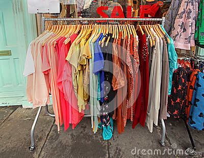 clothes sale