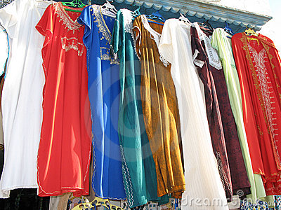 Clothes shop in Tunis