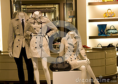 clothing fashion store interiors
