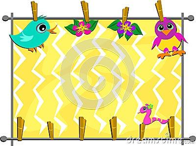 Clothespin Animals Hanging