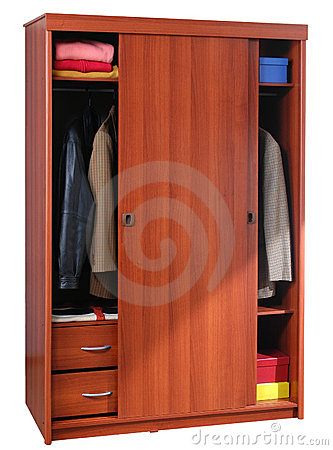 Clothing cabinet isolated royalty free stock photos for Brothers leal kitchen cabinets