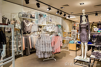 Clothing shop Editorial Image