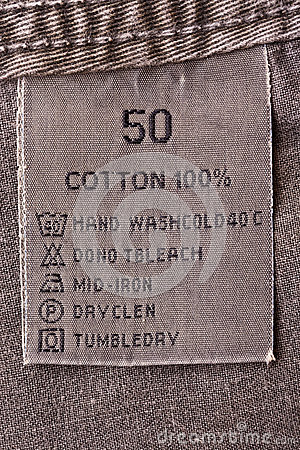 Clothing tag