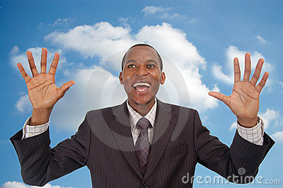 Cloud 9 Businessman