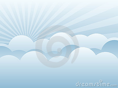 Cloud Background EPS