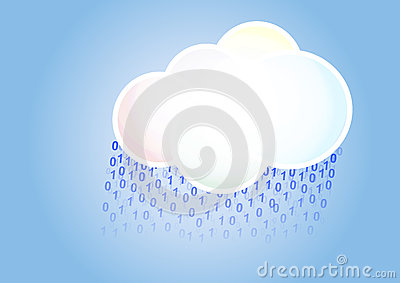 Cloud binary rain