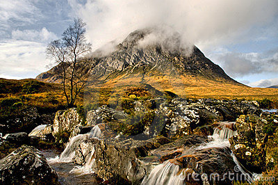 Cloud on the Buachaille