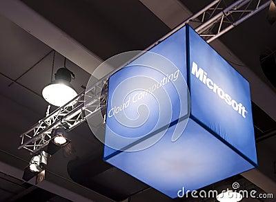 Cloud computing Editorial Photo