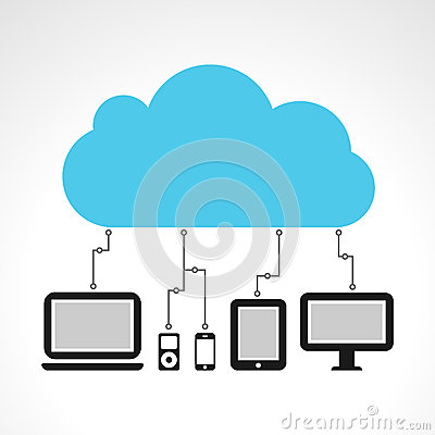 Free Cloud Computing Royalty Free Stock Photo - 24832075