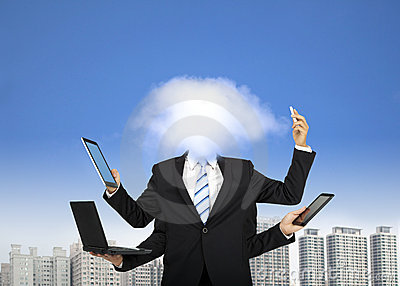 Cloud computing and business thinking