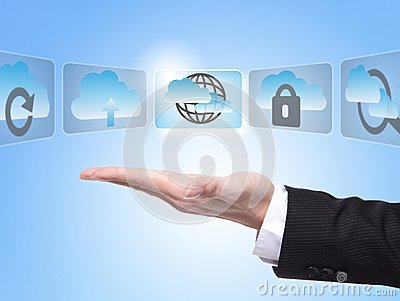 Cloud Computing Concept Stock Photography - Image: 29043452