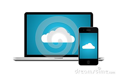Cloud computing connection