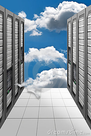 Free Cloud Computing Datacenter Stock Images - 20117594