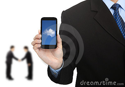 Cloud computing on the smart phone