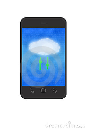 Cloud computing in smartphone