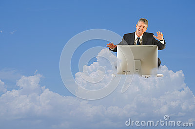 Cloud computing technology work storage icloud