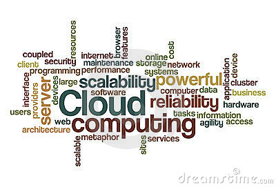 Cloud computing - Word Cloud